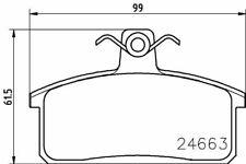 MINTEX MDB2912 BRAKE PAD SET DISC BRAKE Front,Rear