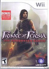 Prince of Persia: The Forgotten Sands (Nintendo Wii, 2010)    Factory Sealed