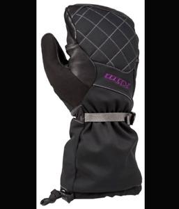 Brand New Klim Allure Mitten - S - Black/Purple - # 4086-001-120-790
