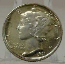 1941 proof United States mercury silver dime, #A999 BIN