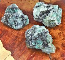 Raw Emerald Green Crystal Chunk Natural Gemstone BR25 Healing Crystals And Stone