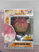 Funko Pop! Dragon Ball Super Saiyan Rose Goku Black#260 Excl BOX WEAR O012