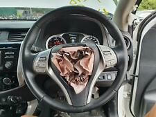 NISSAN NAVARA STEERING WHEEL NP300, LEATHER, 05/15-