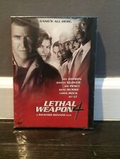 NEW! LETHAL WEAPON 4 DVD GIBSON GLOVER JET LI ROCK FREE SHIPPING NEW