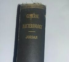 Antique Medical Medicine Book 1920's Bacteriology Bacteria 20's