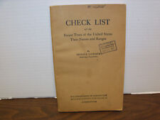 Check List of the Forest Trees of the United States by George B. Sudworth, 1927