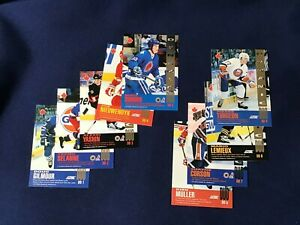 1993-94 Score Canadian Dynamic Duos Complete Set of 9 DD1 to DD9  E6768