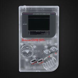 Game Boy Original Shell Case Clear IPS Replacement GB DMG-01 RetroSix ABS