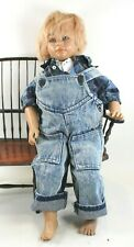 """Annette Himstedt American Heartland Series """"Timi"""" Puppen Kinder Doll 22"""" Tall"""