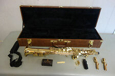Beautiful Reynolds Soprano Saxophone With Case
