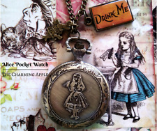 Alice Pocket Watch_Alice in Wonderland_Gift_Accessory_Necklace_Jewellery