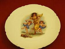 Assiette Décor d'angelots en Porcelaine de Limoges Haviland ancienne