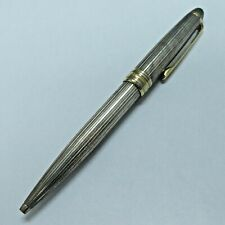 Vintage Sterling Silver 925 Montblanc Meisterstuck Ballpoint Pen Germany No Box