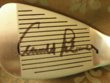 MASTERS/ARNOLD PALMER SIGNED GOLF CLUB EXACT PROOF! IN PERSON COA + PICTURE