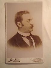 San Francisco-USA-Heinrich von Lengerke (1858-1893) - PORTRAIT/Grand Kab