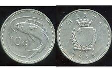 MALTE 10 cents 1998     ANM