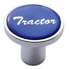 knob tractor screw on blue glossy sticker for Kenworth Peterbilt Freightliner