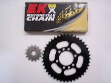 SUZUKI LTZ400 LTZ 400 SPROCKET 13/41 & EK SRO-6 O-RING CHAIN SET/KIT 04-08 blk