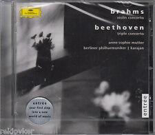 Anne-Sophie Mutter, Beethoven - Tripelkonzert / Brahms - Violinkon. D-Dur(NEU!)