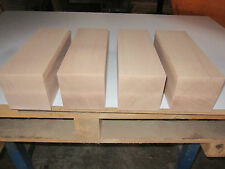 4 Buche Tischbeine (€37,62/m) Bettpfosten 95x95x600mm gehobelt Kantholz Leimholz