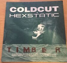 Coldcut & Hexstatic - Timber - 7tracks+videos RARE Greenpeace CD Single VGC
