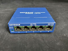 NETGEAR ProSafe GS105 5-port Gigabit Desktop Switch 10/100/1000 Mbps v5