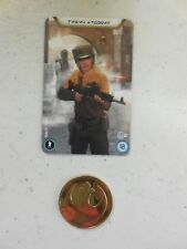 Star Wars Legion Recruitment Kit 1x Rebel Token & Card NEW & UNUSED FFG