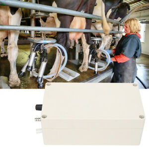 New Electric Milking Machine Accessories Vacuum Pump for Donkey Sheep Cow Horse