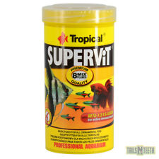 Tropical SuperVit Flakes 50g - Premium Flake Food for All Ornamental Fish