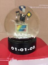 Vintage 2000 Mark of the Millenium 01-01-00 Snow Globe / Y2K