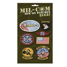 Embroidered Badges Army Sew on Military Airforce Patches Fancy Dress Mil-Com