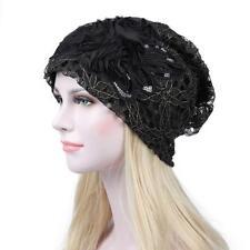 Women Lady Beret Winter Warm Baggy Beanie Knit Crochet Hat Slouch Cap T