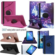 """For Huawei MediaPad T5 (10.1""""inch) 360° Tablet PU Leather Stand Flip Case Cover"""