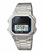 Rare Vintage Casio AL-190WD-1A AL190 solar watch Battery Less NEW