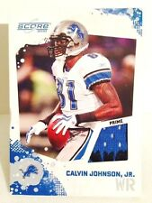 Calvin Johnson PRIME PATCH SP....MEGATRON !!