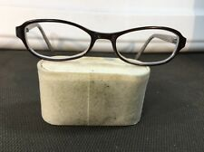 COACH 48/17 Brown/Blue Eyeglass Frames Only 612