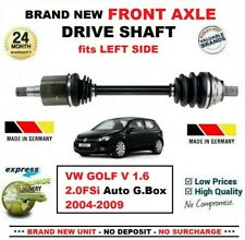 FOR VW GOLF V 1.6 2.0FSi Auto Gearbox 2004-2009 NEW FRONT AXLE LEFT DRIVESHAFT