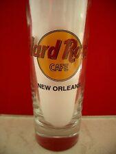 HRC hard rock cafe New Orleans Classic logotipo Black Letter shot glass vasos de ginebra