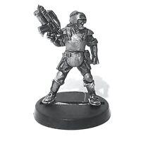 Leader, MAR At Ready 28mm Unpainted Metal Wargames