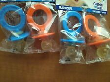 Lot of 4 ball pacifiers, honey center have to have them!
