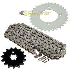 Drive Chain & Sprockets Kit Fits YAMAHA BW80 Big Wheel 80 1986 1987 1988 1990