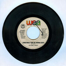 Philippines JAYMIE BABY Christmas Time Na Naman OPM 45 rpm Record
