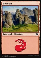 4x Montagna 61 - Mountain 61 MTG MAGIC DDT Eng