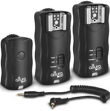 Wireless Flash Trigger Kit (1 Trigger & 2 Receivers) for Canon by Altura Photo®