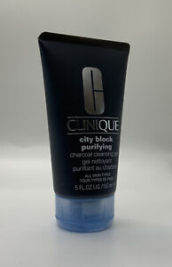 Clinique CITY BLOCK Purifying Charcoal Clay Face Mask & Scrub Polish 30ml New