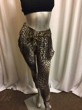 Women's Leopard Print Casual /Club  Leggings Pants  8-10
