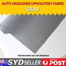 Foam Backed Grey Headliner Car Truck Van Roof Lining Upholstery Decor 1.51 x 1M