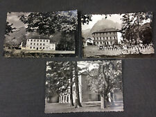Lot de 3 cartes postales anciennes photo de la villa Jeanne d'Arc à st Egrève