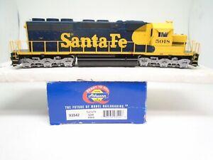 Athearn Ho 93542 SD-40 locomotive, Santa Fe 5018