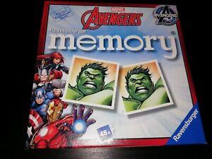 Marvel AVENGERS Memory Game Pairs Ravensburger